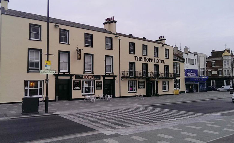 The Hope Hotel Front