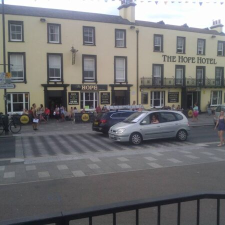 Front of The Hope Hotel on Southend-on-Sea Seafront