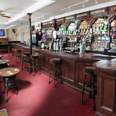 Large Bar in The Hope Hotel